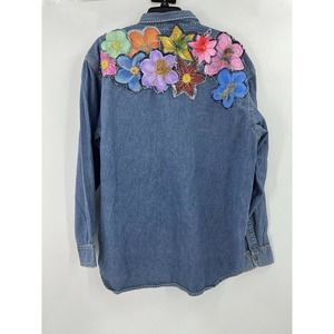 Free People Rialto Jean The Brin Floral Shirt